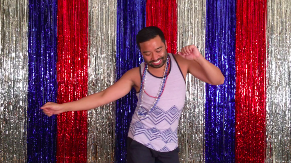 video still from Let's Dance America!