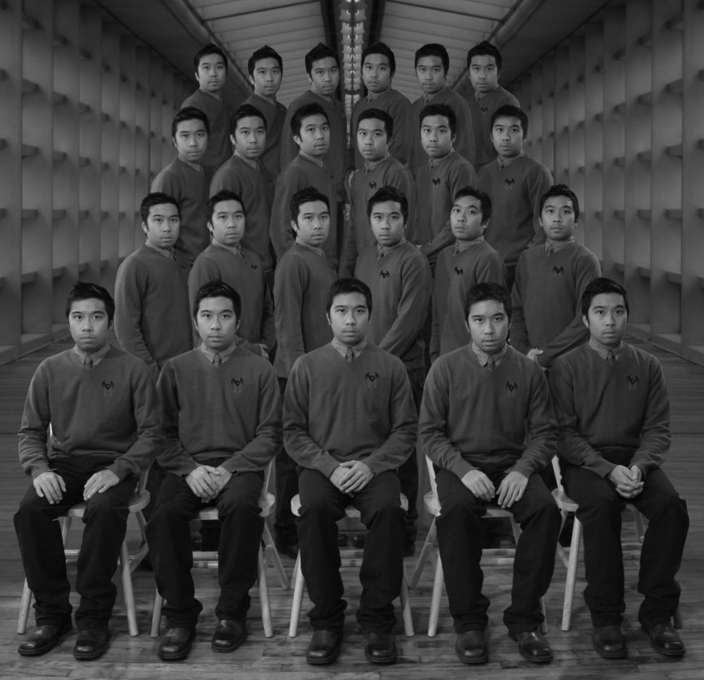 Society of 23 (class picture),   2008. Inkjet photograph.