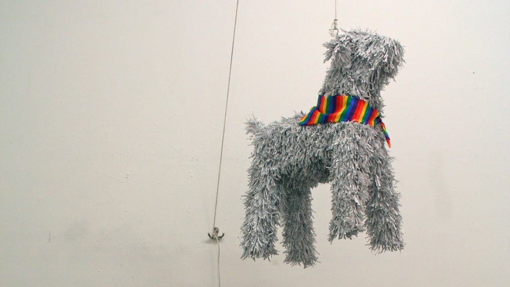 man's best friend (puppy piñata)