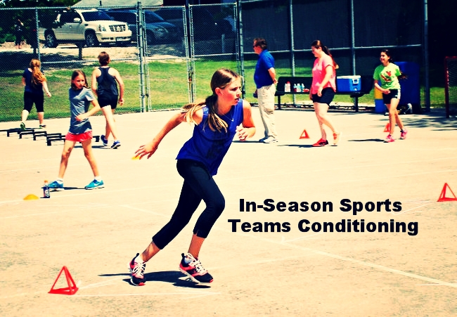IN-SEASON SPORTS TEAMS CONDITIONING