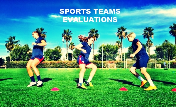 SPORTS TEAMS EVALUATIONS