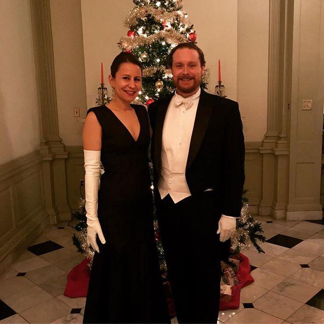 270 years of Christmas.  #assemblies #1301walnut #christmas #whitetie #philadelphia