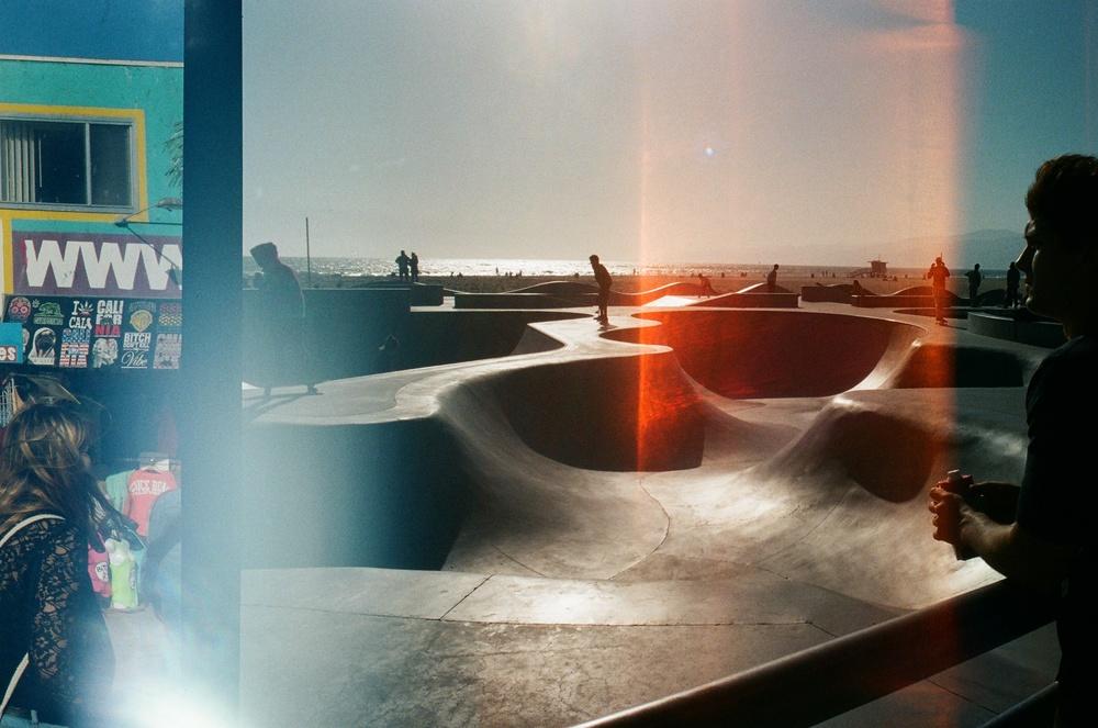 Venice Beach, CA  Canon A-1 / KodakPortra 800