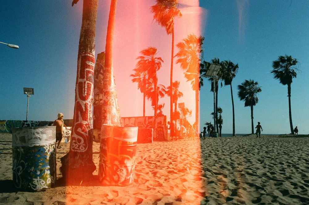 Venice Beach, CA  Canon A-1 /Kodak Portra 800