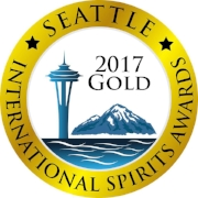 2017 Seattle International      Spirits Awards - Gold Medal
