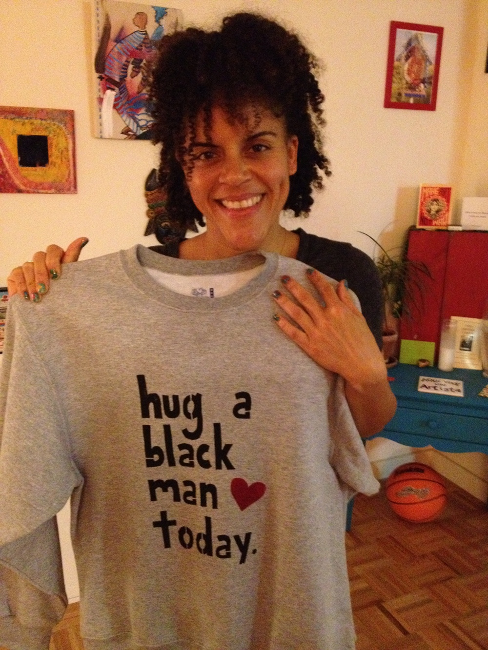 Hug a Black Man Today