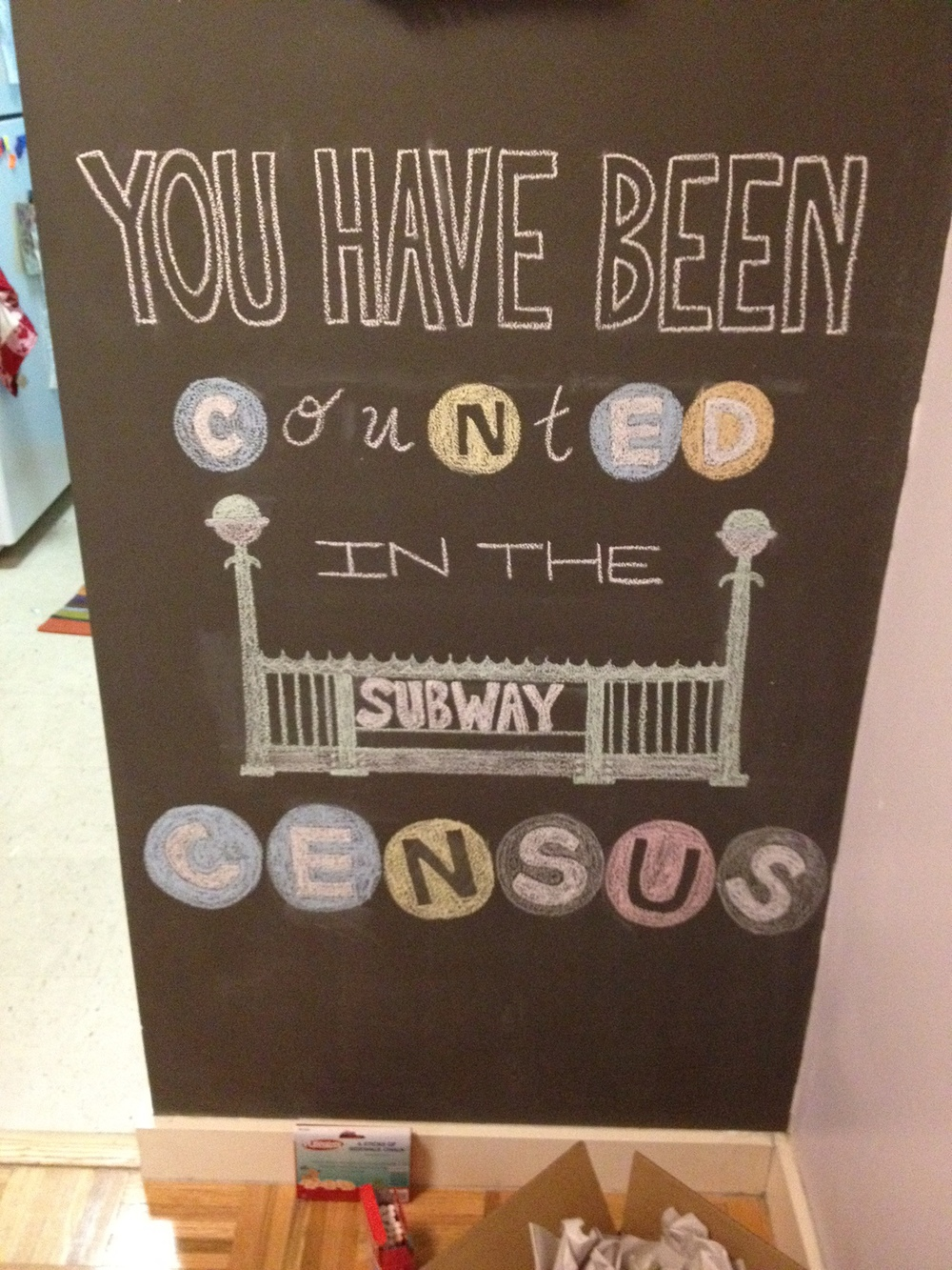 You've Been Counted in the Subway Census