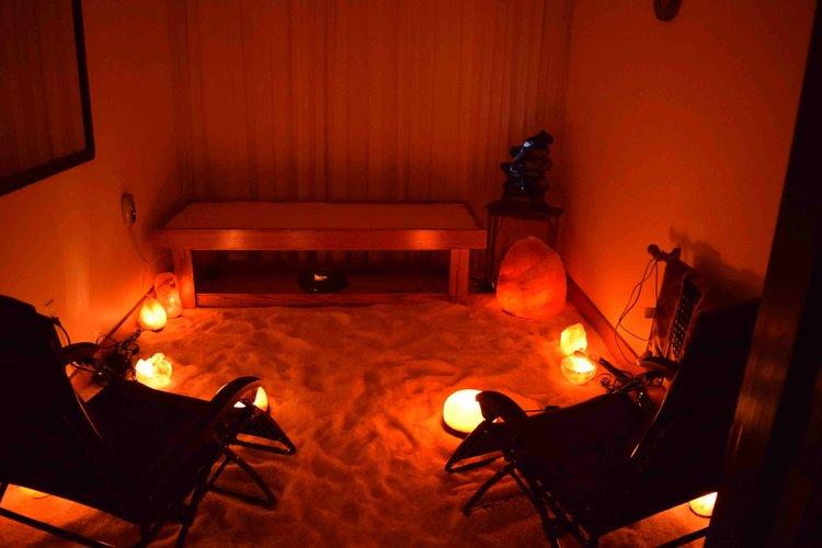 Himalayan Salt Room — Abundant Life Wellness Center