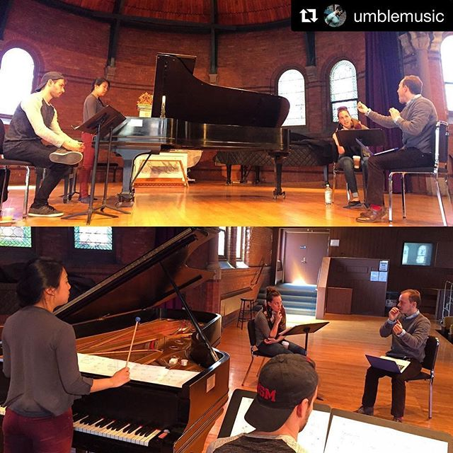 #Repost @umblemusic with @repostapp ・・・ @stemmusic working with composer @sergioacote! @cornelluniversity