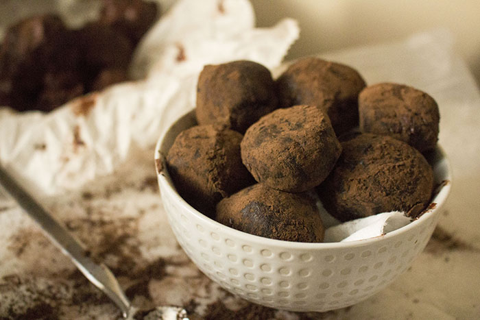 Dark Chocolate Truffles | Pass the Cocoa