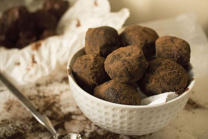 Dark Chocolate Truffles — Pass the Cocoa