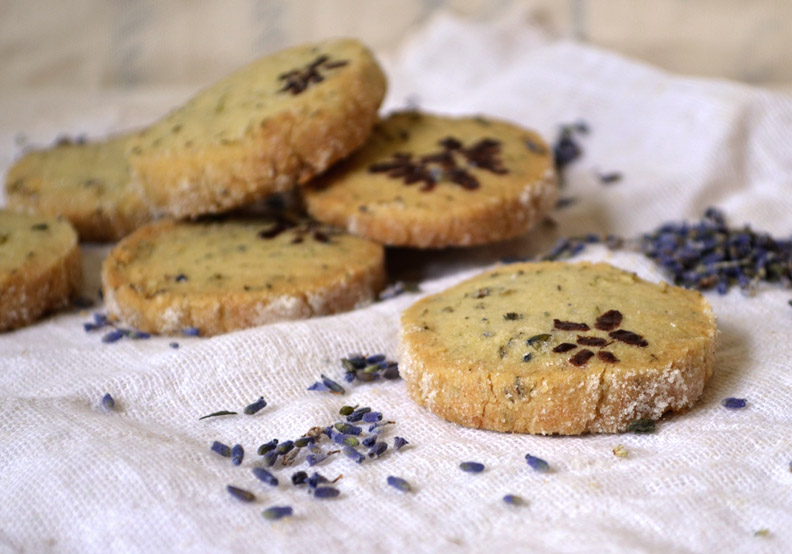 Lavender Sable Cookies | Pass the Cocoa