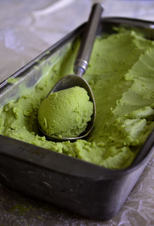 Matcha Ice Cream | Pass the Cocoa