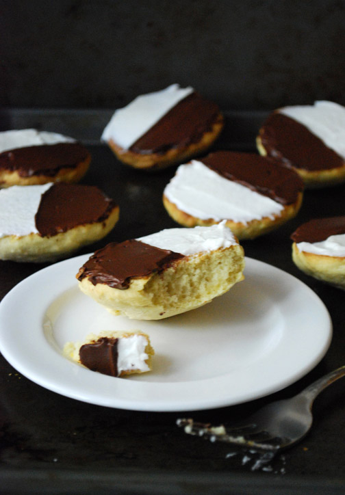 Black and White Cookies | Pass the Cocoa