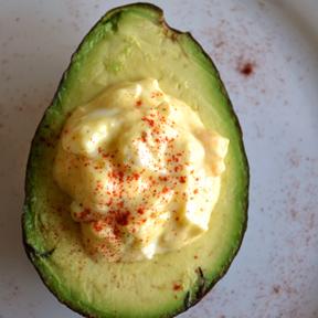 Egg Salad-Stuffed Avocados