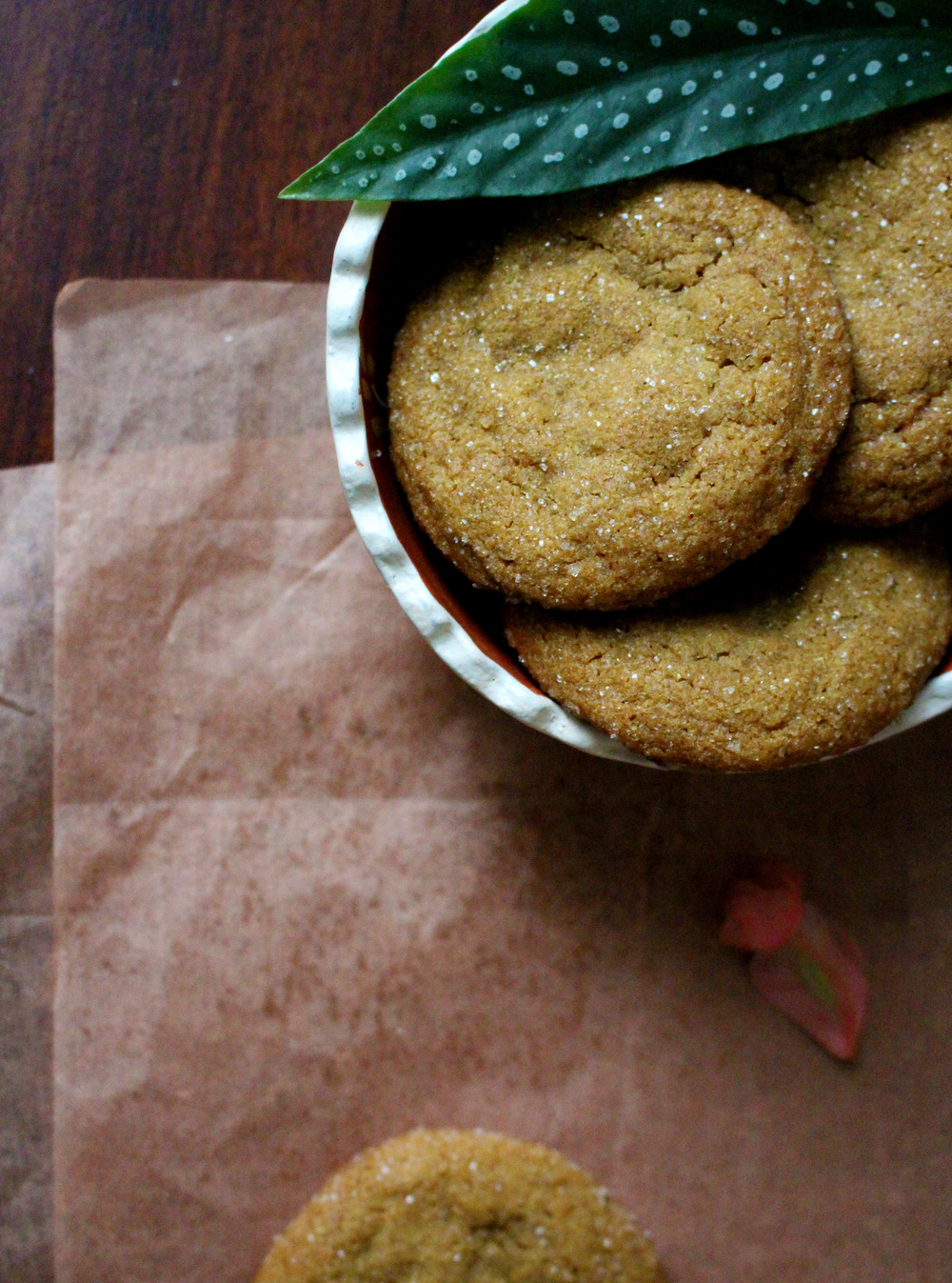 Chewy Ginger Molasses Cookies | Pass the Cocoa