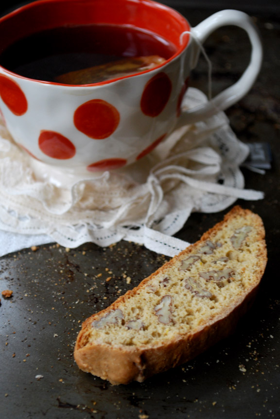 Lemon and Pecan Biscotti | Pass the Cocoa
