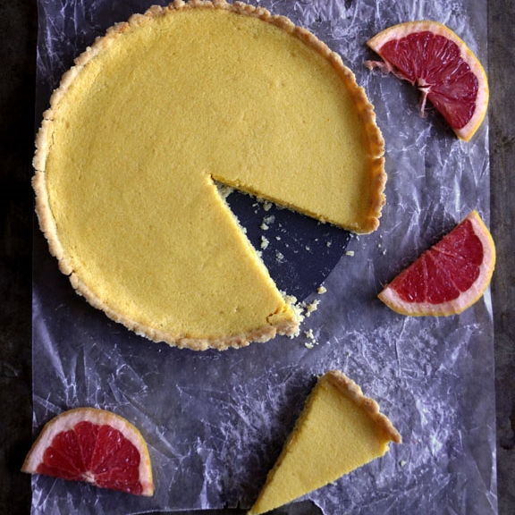 Grapefruit Tart