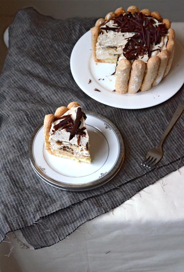 Tiramisu Charlotte | Pass the Cocoa
