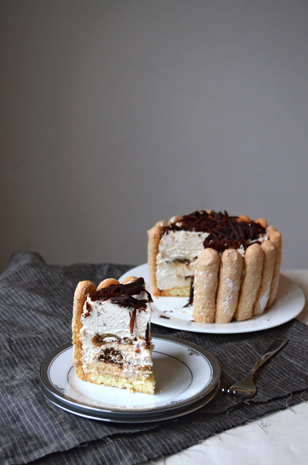Tiramisu Charlotte | Pass the Cocoa