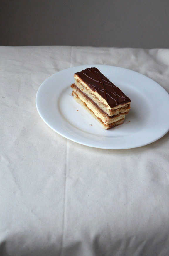 Check out our  Skillshare class  to watch us make this tiramisu opera cake!