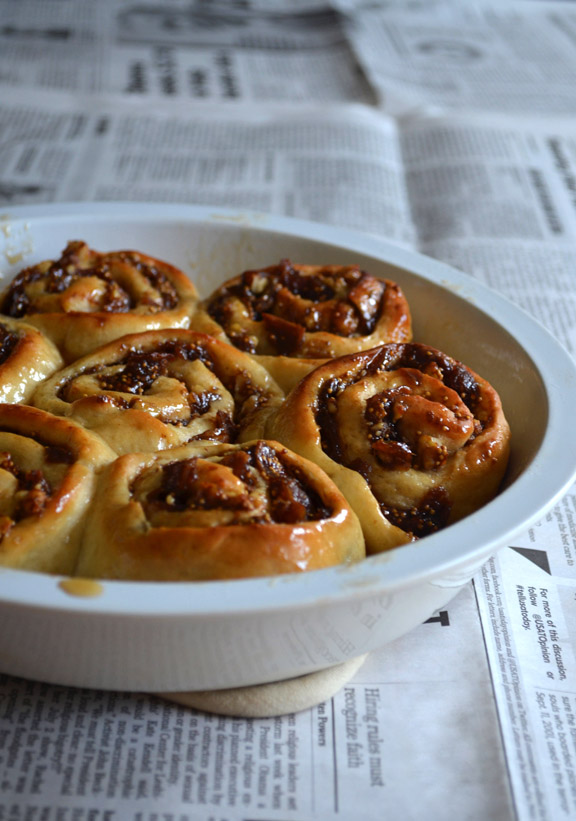 Fig and Honey Rolls