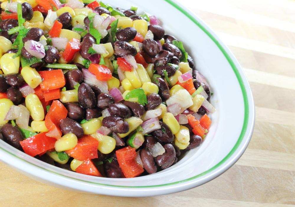 late summer corn salad