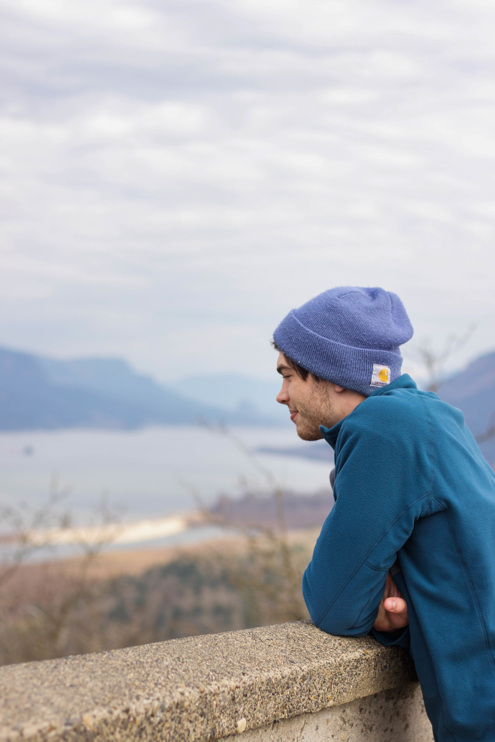View of the Columbia River Gorge from Crown Point