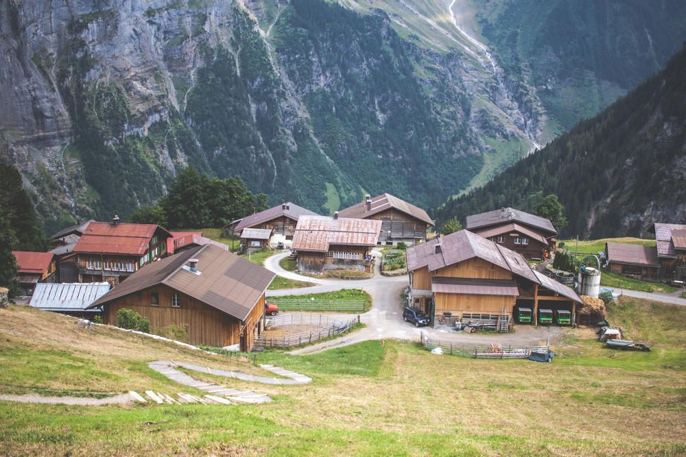 GIMMELWALD AND OTHER MOUNTAIN TOWNS