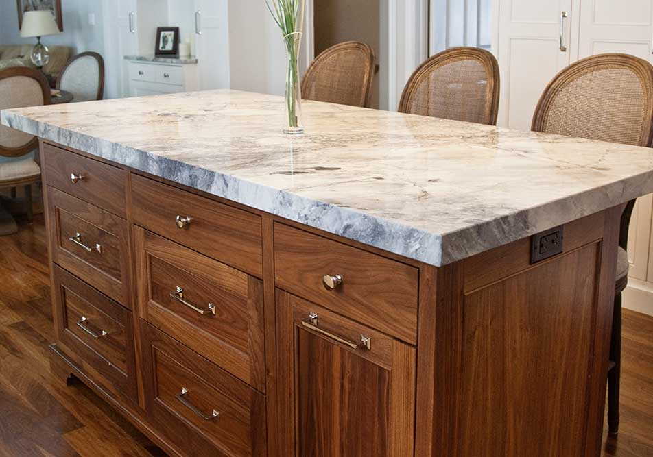 walnut kitchen island cabinetry adelaide creek furniture 3345