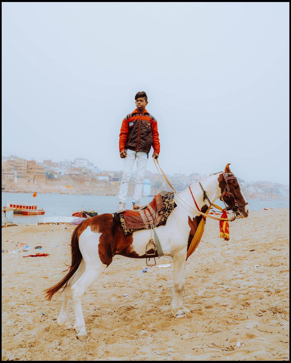 Boy in Varanasi