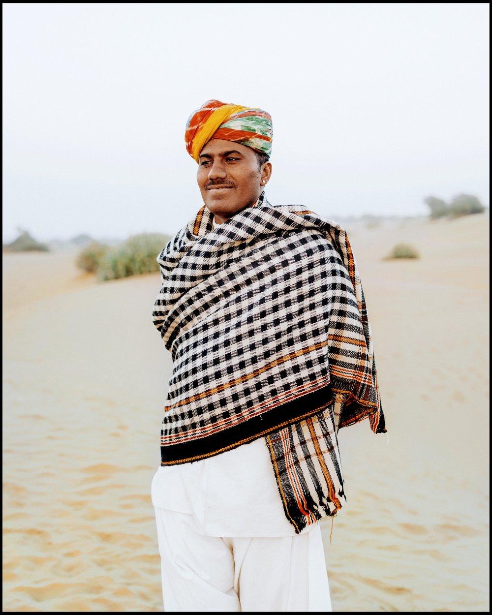 Man in Jaisalmer