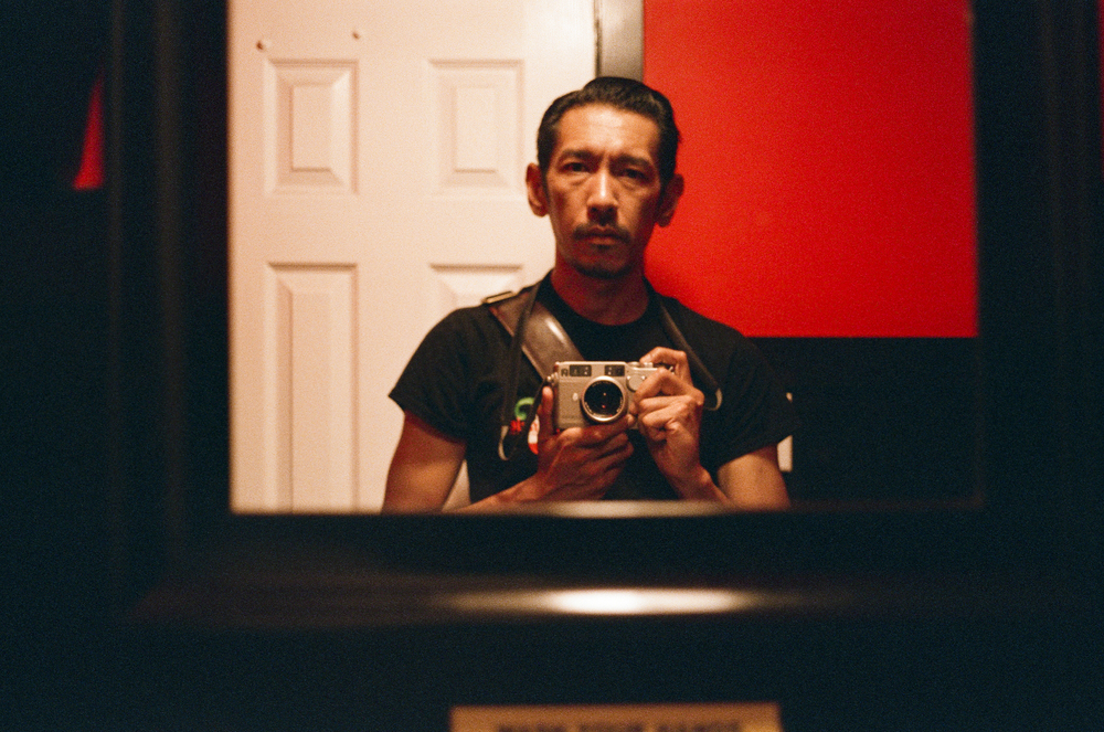 The first shot I took was a self portrait, as it is routine with every roll I put into any camera. The film looks like it saturates the red more so than other film stocks but not too bothersome in my opinion.