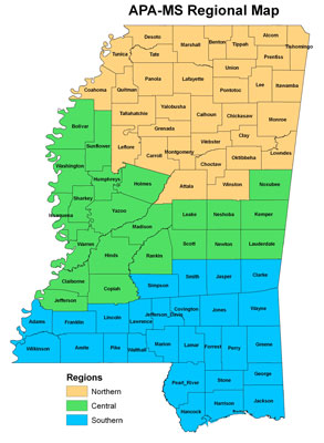 APA MS Regions Mississippi Chapter of the American Planning