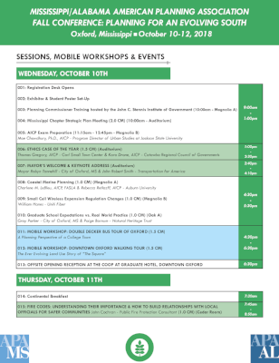 Click on image to see the full agenda.