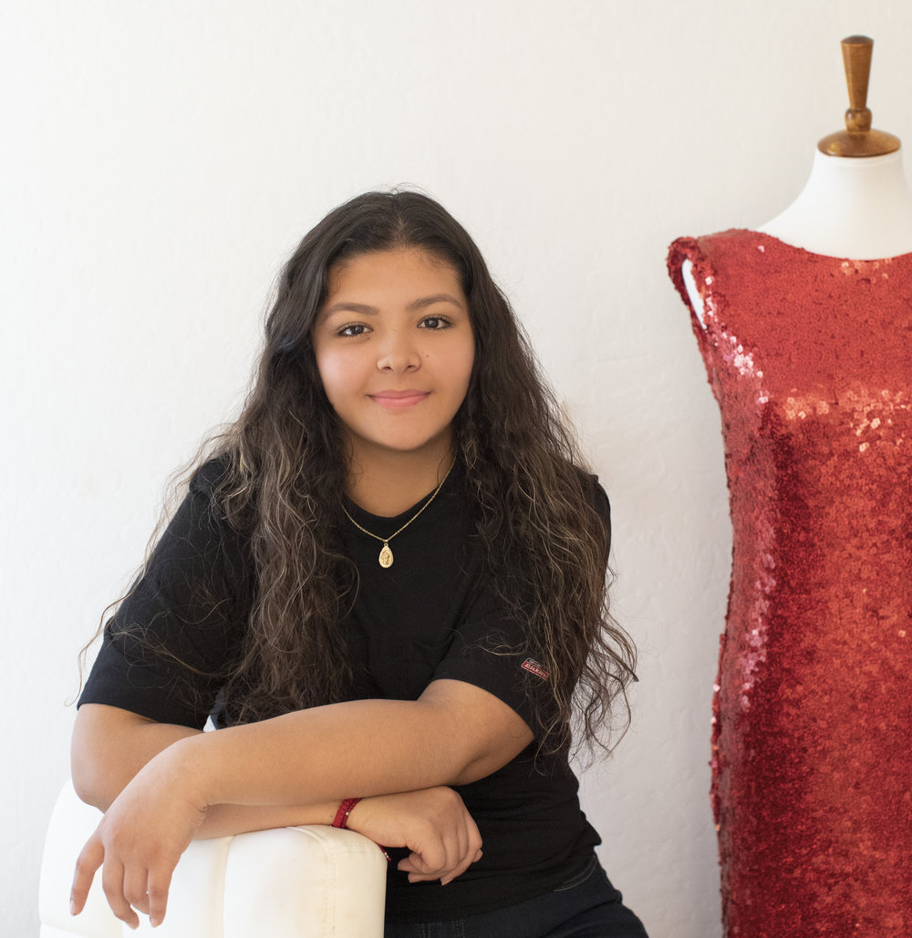 Meet Sherlyn - Sherlyn is currently attending High School. Her goal is to become an entrepreneur. She is creative and enjoys drawing, painting and the outdoor life.