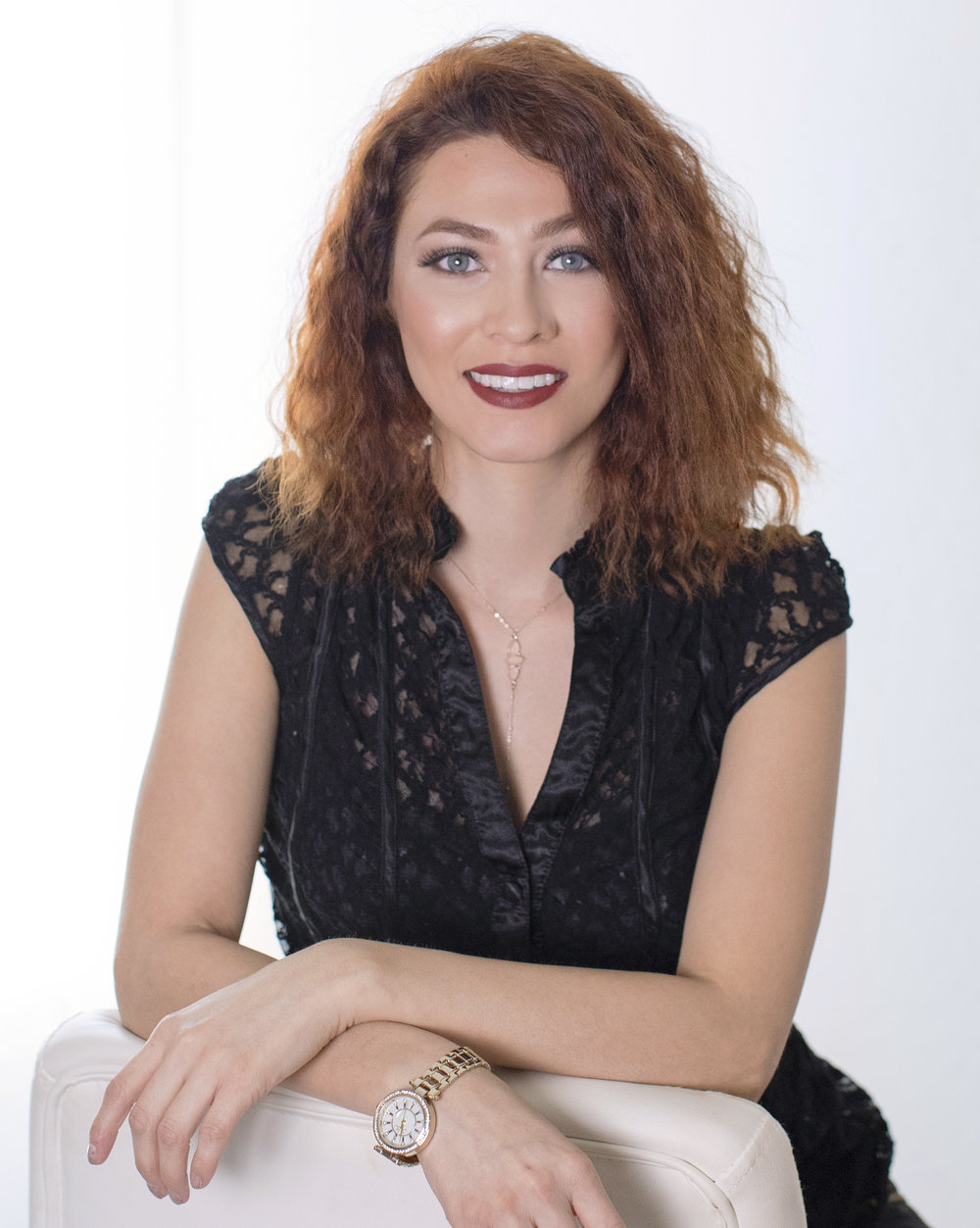 Meet Karina - Karina has been in the hair and makeup industry for nine years. She loves everything about the beauty industry, but what she enjoys the most is seeing her clients transformation. She has had the opportunity to work with Phoenix Fashion Week during the major annual event in Scottsdale AZ.