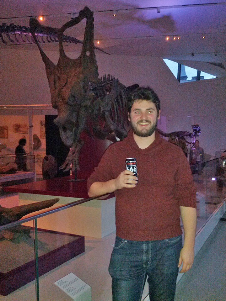 Beer and Dinosaurs.