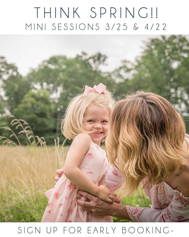 Today's weather has me ready for spring and mini sessions 😎🌞 DM me to get on the email list for priority booking!