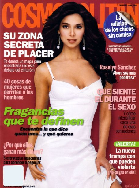 Roselyn Sanchez, Cosmopolitan April 2006 .jpg