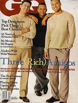 erek Jeter, Magazine [United States] (April 2000).jpg