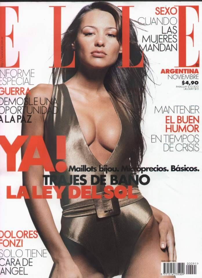 Carolina Ardohain, Elle Magazine [Argentina] (November 2001).jpg