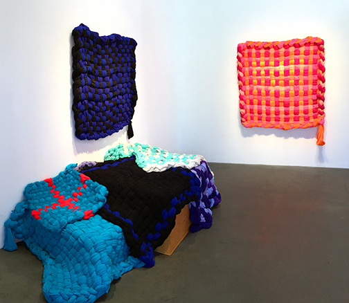 Installation view at Sloan Projects, 2015