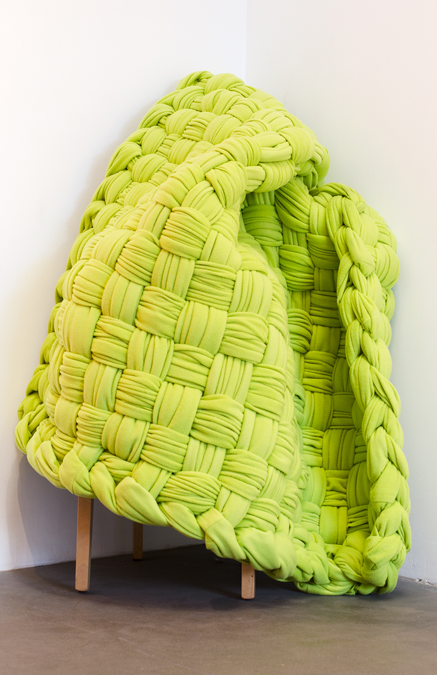 Chartreuse,  2015 Fleece 50 x 50 inches Unique