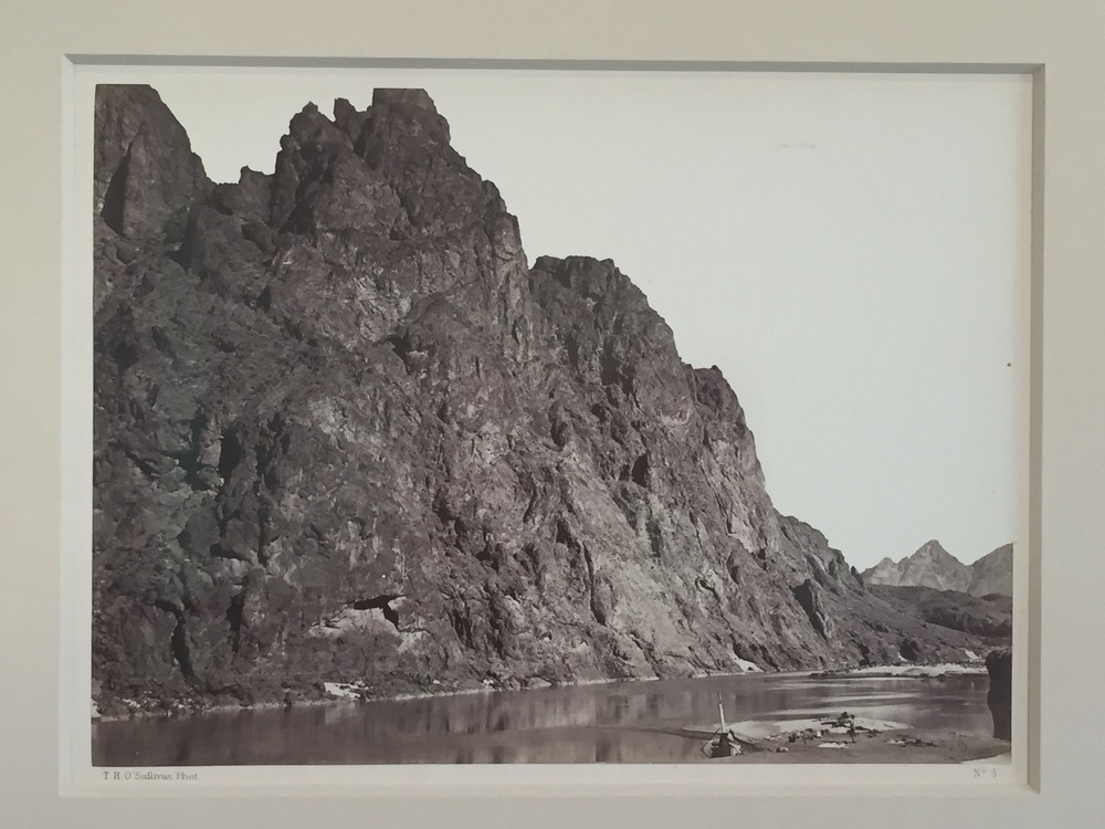 Timothy O'Sullivan  Black Canyon , 1871 Vintage albumen print