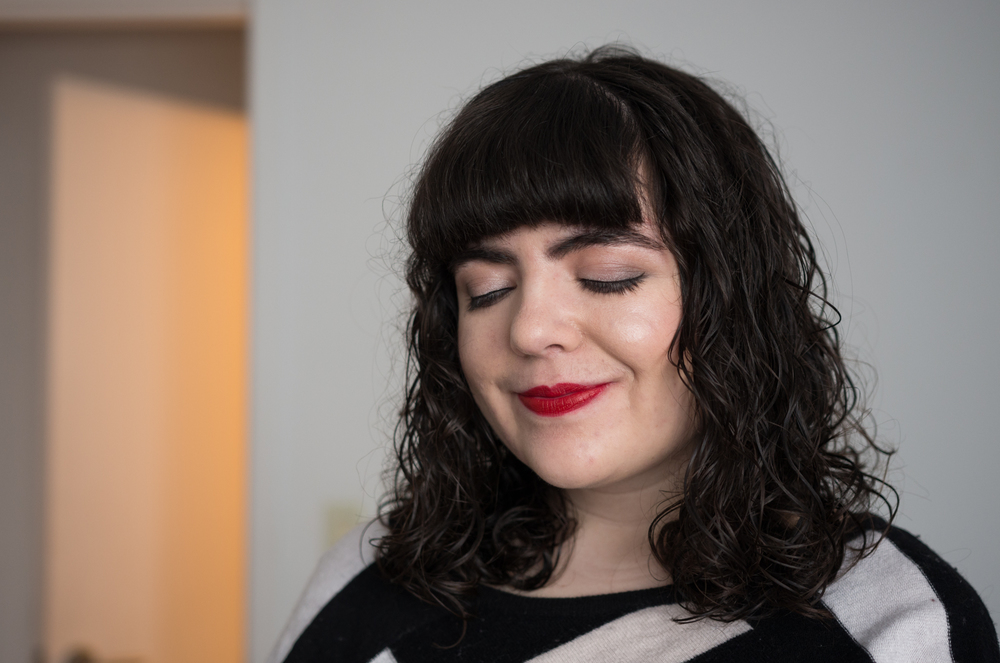 1/22  Self-portraits because I liked my makeup.