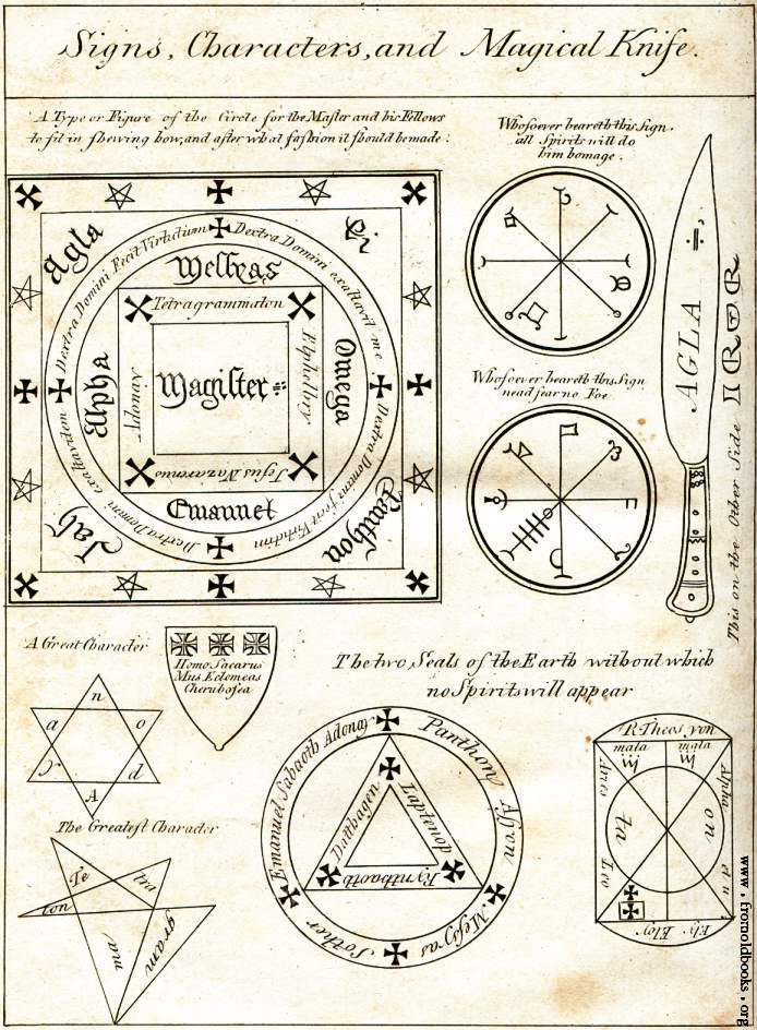 Ebenezer Sibly's book of Occult Sciences