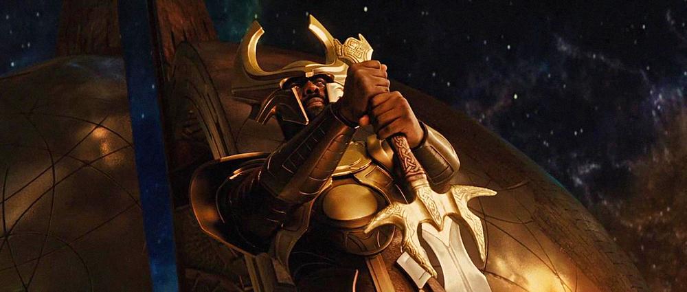 David DelaGardelle and Andy Davis built Heimdall's Sword for the Marvel Studios film Thor.