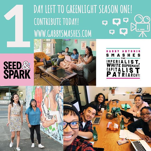 LINK IN BIO! We are just $182 away from getting the green light from Seed & Spark! Our campaign ends tomorrow (Tues. Feb. 26th) at NOON! #seedandspark