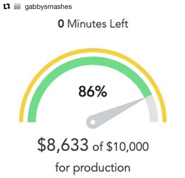 #repost We got the GREEN LIGHT! We're making season one of Gabby Smashes! 👏🏽👏🏽👏🏽 Thank you so much to everyone that donated and shared the campaign. There's more to be said and more people to thank but for now we're going to rest and enjoy the snow day in Portland because running a month-long crowdfunding campaign is a ton of work!